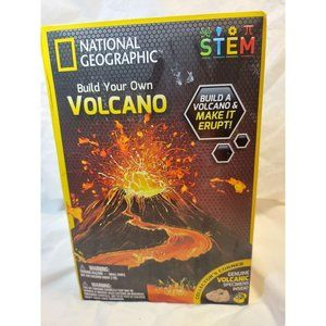 National Geographic Build Your Own Volcano Kit - N